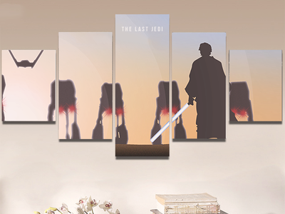 The Last Jedi luke skywalker visual scene vector illustrator the last jedi star wars design illustration poster graphic deisgn illustration art