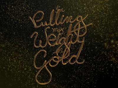 Gold lettering modeling vector typography graphic design 3d artist graphic 3design illustration art 3d cinema4d poster art illustration design