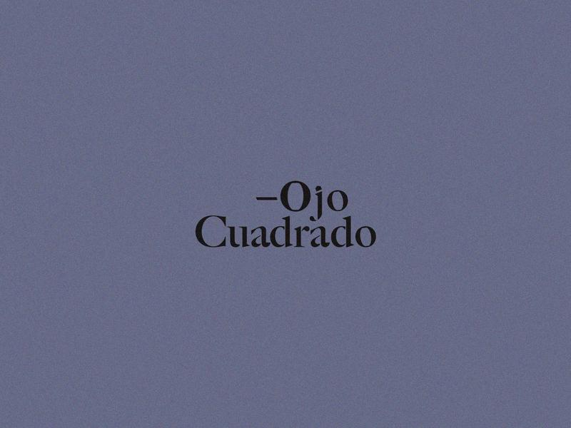 Ojo Cuadrado II architecture corporate branding design creative ideas drawing logo branding