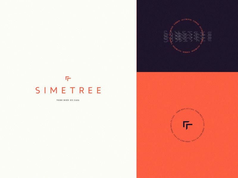 SIMETREE_ branding and identity love concept artistic direction branding concept logo branding design branding