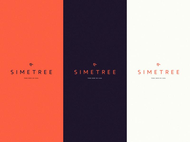 SIMETREE logotype love full vector art direction artist logo design concept art logo brand