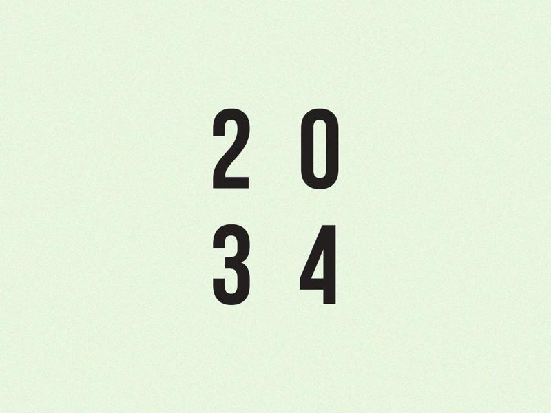 2034 design hi brand art wtf numbers logo