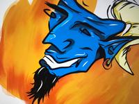 Blue Lucifer