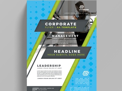 Corporate Flyer Design Practice