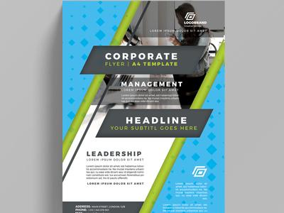Corporate Flyer Design Practice