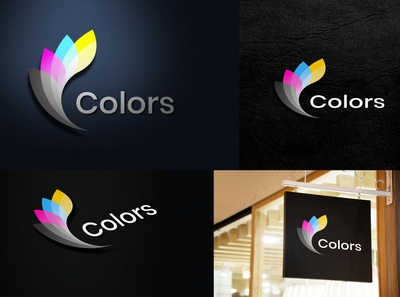 Colors Gradient Logo