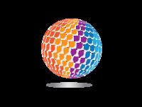 3D Circle Pixel Logo Design