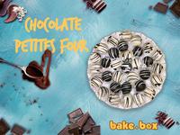 Chocolate petites four