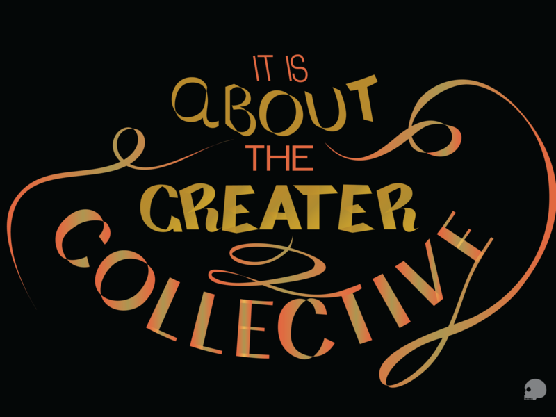 Greater Collective adobe illustrator vector graphic typography illustration lettering
