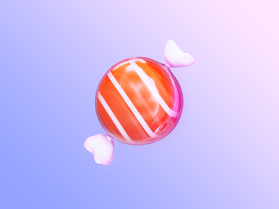 App Icon - HUSH APP logo gradient logo gradient candy icon appicons appicon 3d