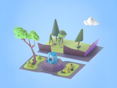 The Makata 3D Park