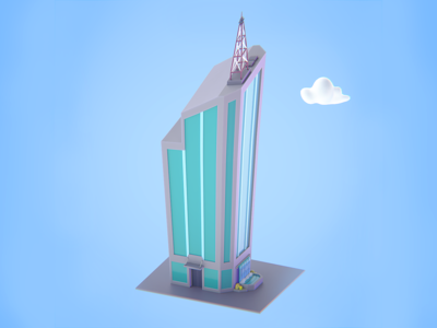 The Makata 3D Skyscraper
