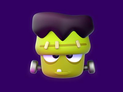 Frankenstein - Zenly halloween frankenstein avatar octanerender design character octane 3d