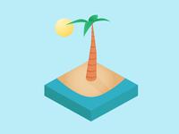 Isometric Palm