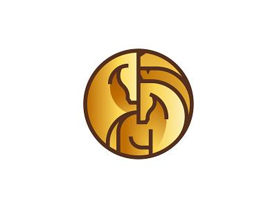 horses minimal ui illustration vector icon set logo icon design line icons