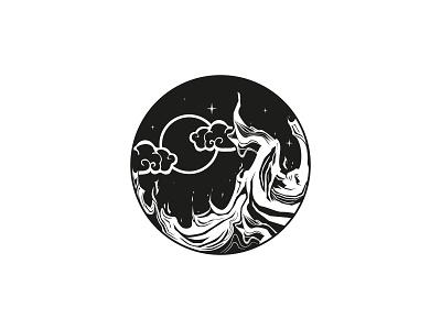 Moon Fire ui illustration vector logo icon set icon design line icons