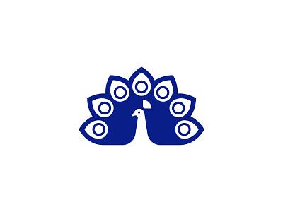 peacock flat minimal ui vector icon set logo line icon design icons
