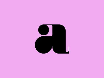 letter a minimal vector logo icon set line icon design icons