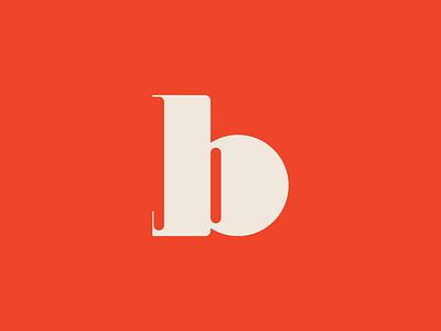 Letter b ui vector logo icon set line icon design icons