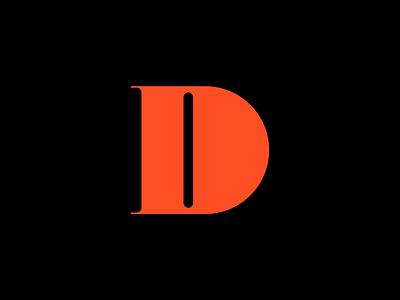 Letter D typography minimal illustration vector logo icon set line icon design icons