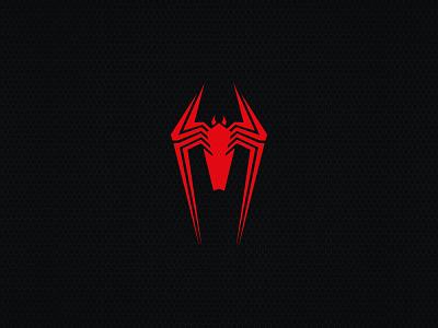 Spider minimal flat illustration icon set logo line icon design icons spider