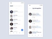 Communication Screens - Employee Management App