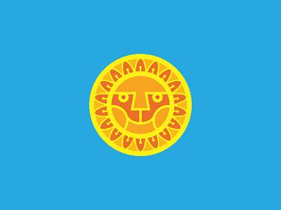 Sun yellow illustration