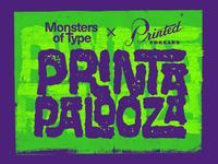 Monsters of Type × Printed Threads Printapalooza