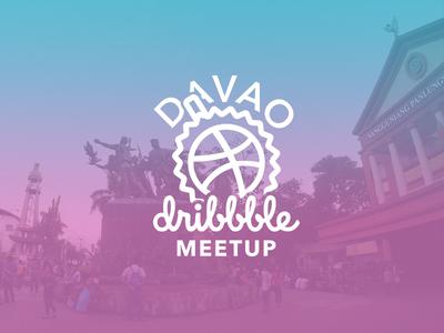 Dribbble Davao Logo logo meetup dribbble