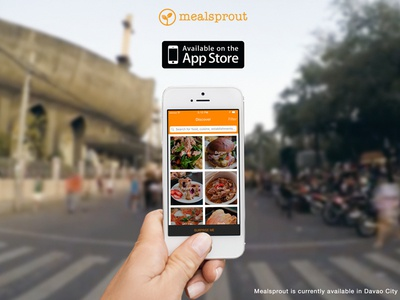 Mealsprout iOS app mealsprout ios food app