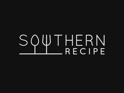Southern Recipe Logo  food logo southern recipe