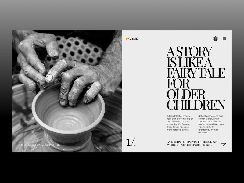 Gome Website (Pottery Stories)