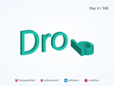 Drop - Isometric illustration