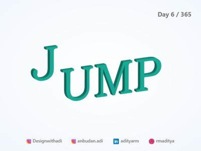 Jump - Isomeric illustration