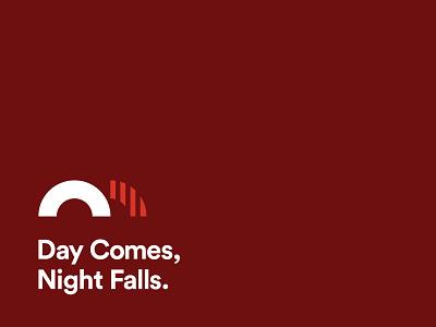 Day Comes, Night Falls. travis ladue logos