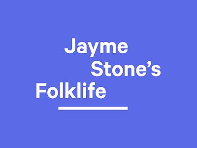 Jayme Stone's Folklife travis ladue logo