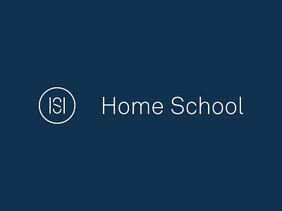 Home School logo studio mast travis ladue