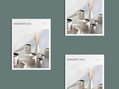 Standard Wax Look Book studio mast travis ladue