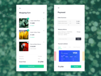 Cart and Payment page