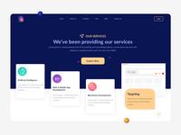Service Landing Page