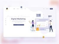 Digital Marketing Landing