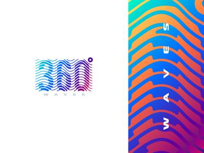 360° Waves Logo
