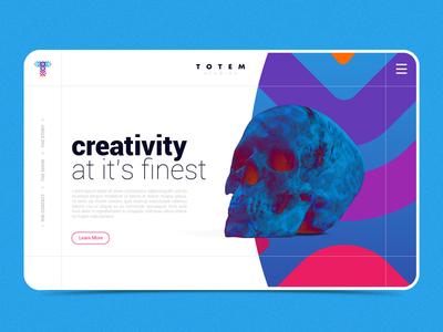 Totem Website Design