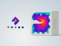 Trybe Studios Logo Design Process on Youtube