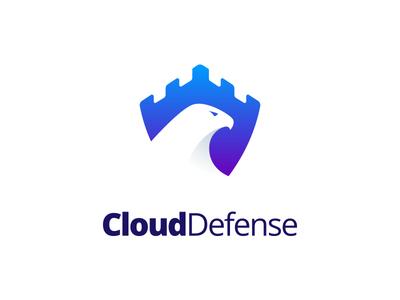Cloud Defense Logo Design