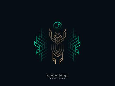 khepri cajva logo mark emblem branding identity dribbble 2