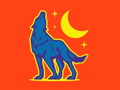 Coyote desert arizona illustration wework sticker fun design coyote