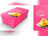 Pulp Cake Concept Label Design