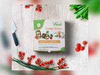 Fresh Healthy Delicious Concept Packaging Design