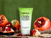 Lanolin Moisturiser Concept Label Design